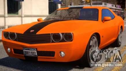 Bravado Gauntlet Sport Rims for GTA 4