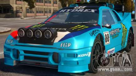 Ford RS200 Evolution Rallycross V.1.3 for GTA 4