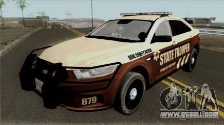 Ford Taurus 2013 Bone County Police for GTA San Andreas