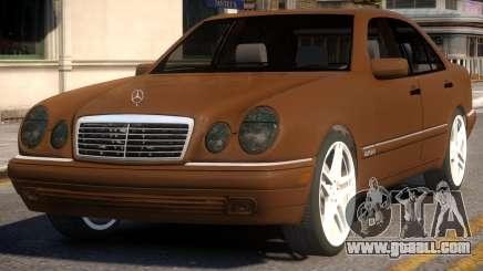 Mercedes-Benz E420 W210 v1 for GTA 4