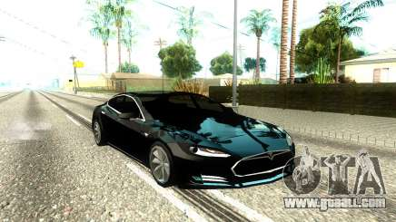 Tesla Model S Low Poly for GTA San Andreas