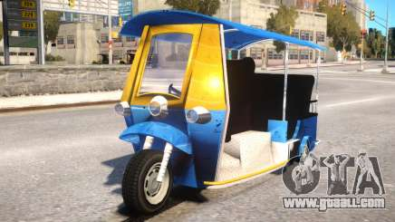Tuk Tuk Taxi for GTA 4