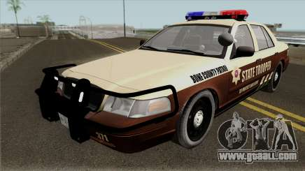 Ford Crown Victoria 2011 Bone County Police for GTA San Andreas