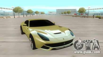 Ferrari F12 Berlinetta олива for GTA San Andreas