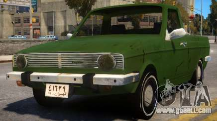 Peykan Pick Up Old for GTA 4