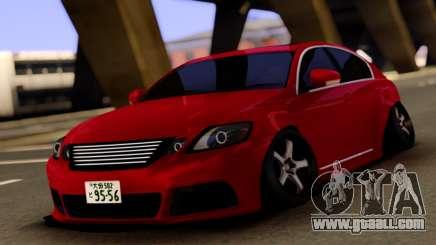 Lexus GS450h for GTA San Andreas