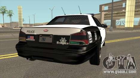 LVPD Vapid Stanier GTA V IVF for GTA San Andreas