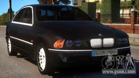 BMW 525i E39 for GTA 4