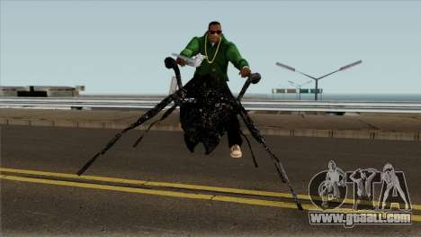 Ant Bike for GTA San Andreas back view