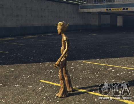 GTA 5 Teen Groot (Avengers Infinity War) 1.0