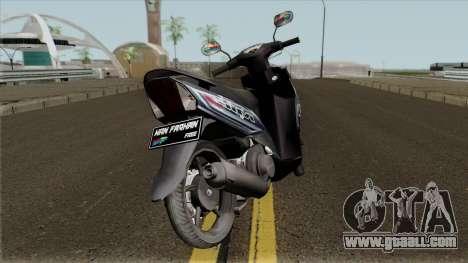 Yamaha Mio J STD for GTA San Andreas