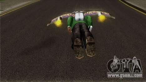Rocket Wings for GTA San Andreas