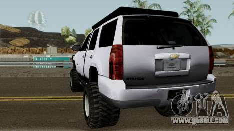 Chevrolet Tahoe Offroad BkSquadron for GTA San Andreas