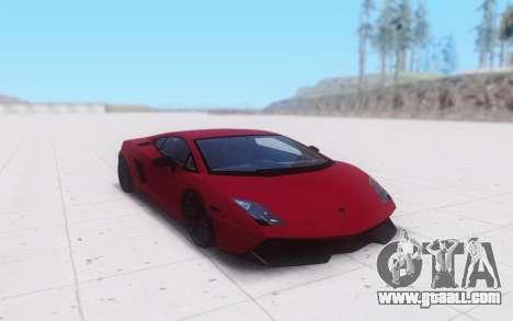 Lamborghini Gallardo for GTA San Andreas