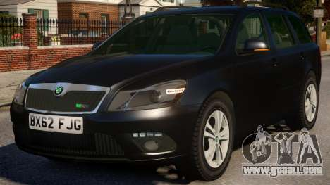 Skoda Octavia Unmarked for GTA 4