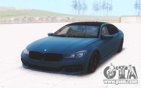 BMW 5 Series Sedan for GTA San Andreas