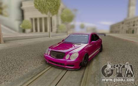 Mercedes-Benz E55 AMG Speedhunters for GTA San Andreas