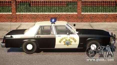 1987 Ford LTD Crown Victoria ELS for GTA 4