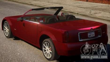 2004 Cadillac XLR for GTA 4