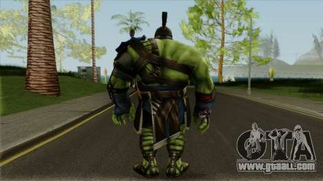 Marvel Future Fight - Hulk (Thor: Ragnarok) for GTA San Andreas