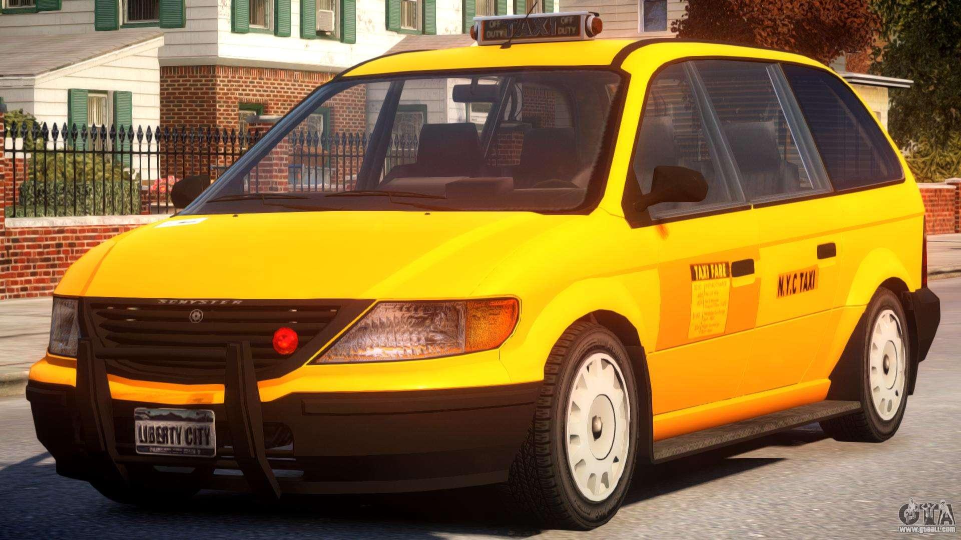 Cabbie New York City for GTA 4