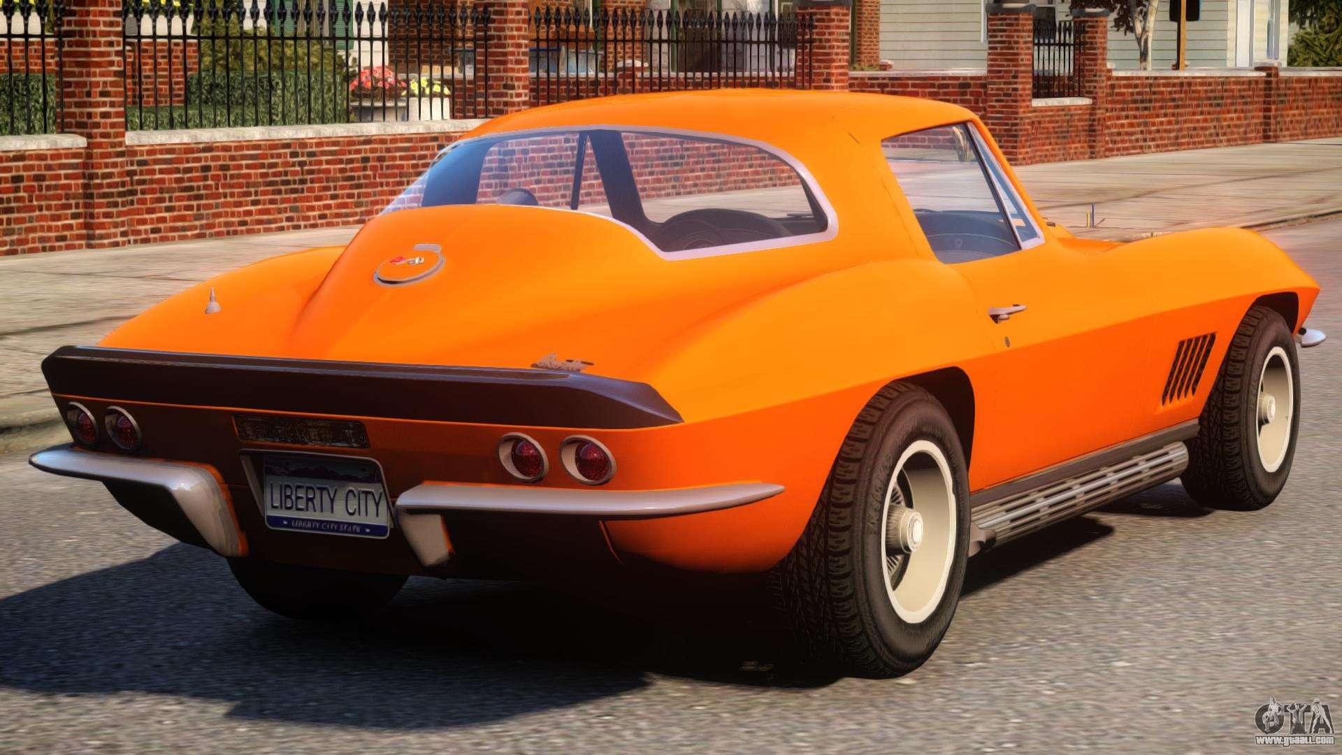 1967 chevrolet corvette c2 epm for gta 4. Black Bedroom Furniture Sets. Home Design Ideas