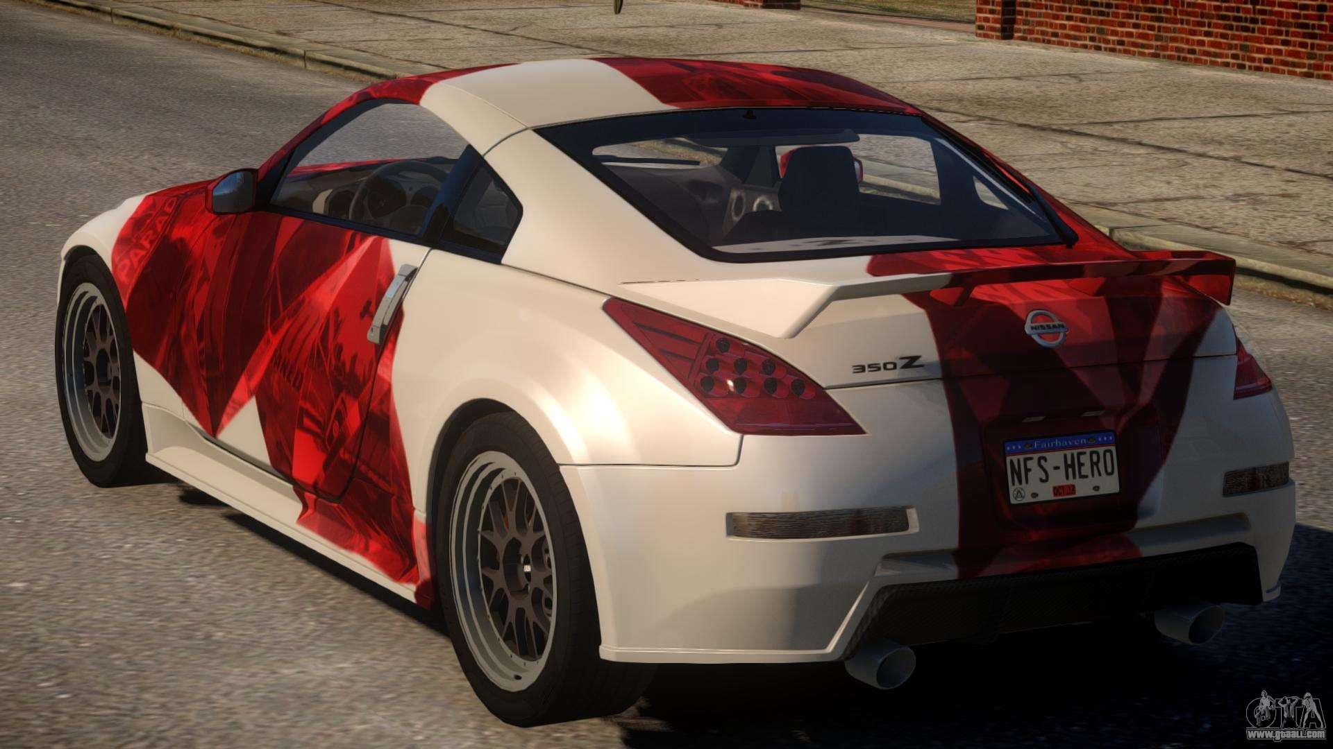 Nissan 350Z Underground PJ1 for GTA 4