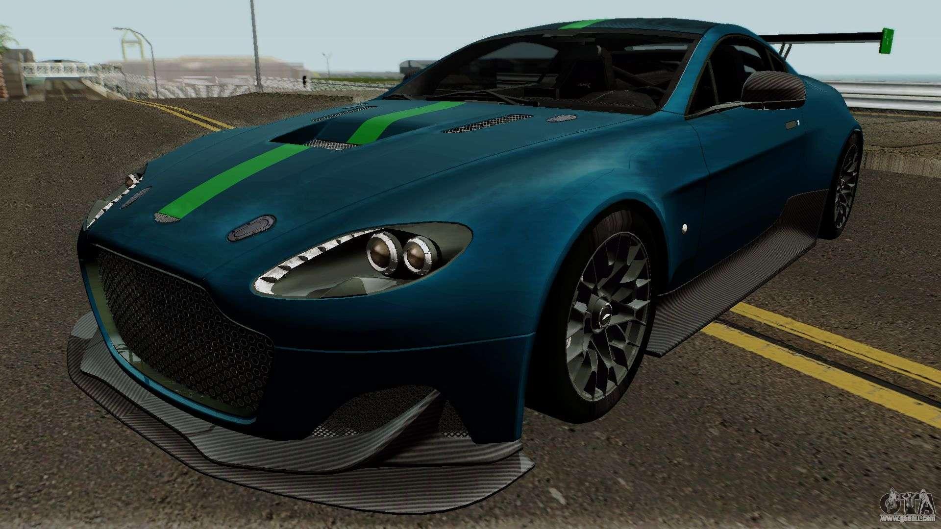 Aston Martin Amr Pro 2017 For Gta San Andreas