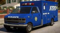 Police NYPD Van for GTA 4
