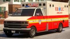 Ambulance FDLC for GTA 4