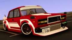 VAZ 2107 Bosozoku Style for GTA San Andreas