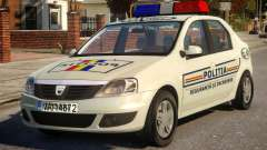 Dacia Logan Police for GTA 4