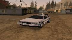 Delorean DMC-12 Back To The Future 2 for GTA San Andreas