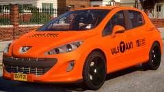 Peugeot Taxi VALS for GTA 4