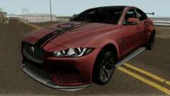 Jaguar XE SV Project 8 2017 for GTA San Andreas