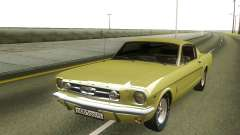 Ford Mustang 1966 Stock for GTA San Andreas