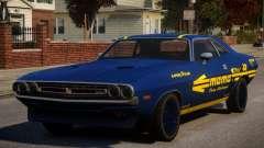Dodge Challenger 1971 PJ10 for GTA 4