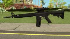 M4AR15 ACOG for GTA San Andreas