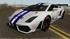Lamborghini Gallardo Racing Team Solvalou RR-TYP for GTA San Andreas