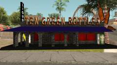 New Ten Green Bottles and Bar Interior for GTA San Andreas