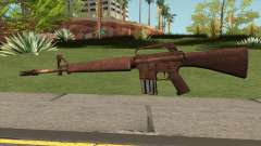 M16 Skullpiercer from Call Of Duty Z for GTA San Andreas