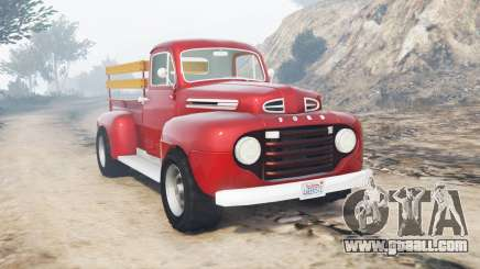 Ford F-1 1949 [replace] for GTA 5