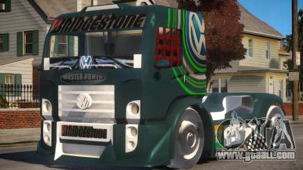 VW Constellation Formula Truck for GTA 4
