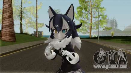 Kemono Friends Gray Wolf (01) for GTA San Andreas
