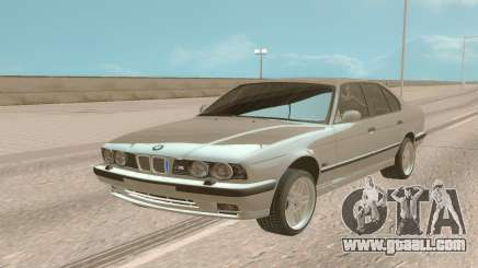 BMW M5 E34 Stock for GTA San Andreas