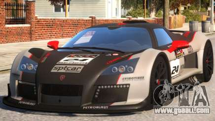 2011 Gumpert Apollo S N24 for GTA 4
