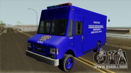 RPD Van Swat RE3 for GTA San Andreas
