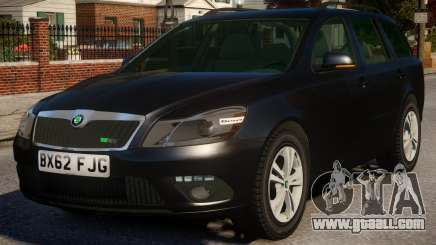 Skoda Octavia Unmarked for GTA 4