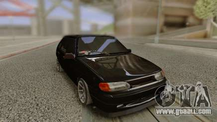 VAZ 2114 without rear bumper for GTA San Andreas