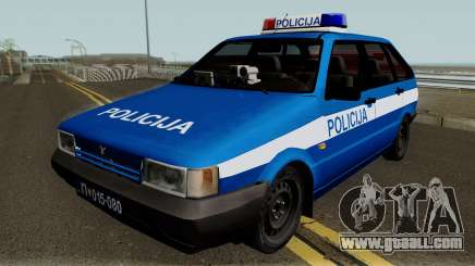 Zastava Yugo Florida 1.3 Policija for GTA San Andreas